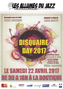 DISQUAIRE DAY LE 22 AVRIL 2017