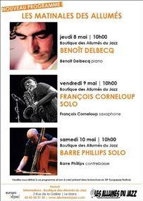 Concerts à la Boutique des Allumés pendant l'Europa Jazz