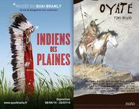Exposition sur les indiens des plaines