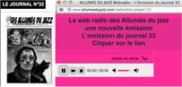 Une nouvelle émission sur la web radio des Allumés du jazz