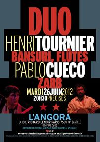 Duo Henri Tournier pablo Cueco