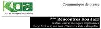 5ème rencontre Koa Jazz - Festival Jazz et musique improvisée