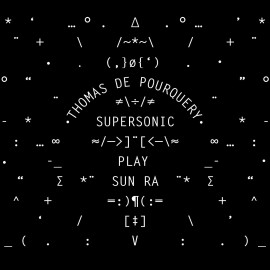 SUPERSONIC PLAY SUN RA LP