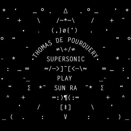 SUPERSONIC PLAY SUN RA LP