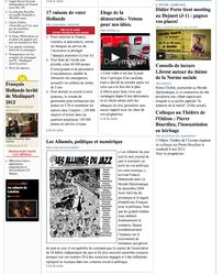 Blog Jean-Jacques Birgé sur ADJ en une du Club de Mediapart