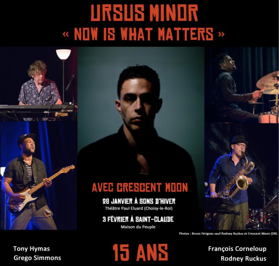 Concert d'Ursus Minor le  28 janvier et le 3 février 2018