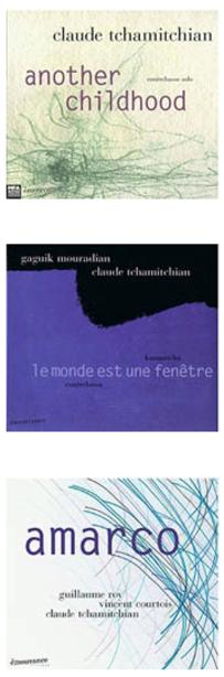 Prochains concerts de Claude Tchamitchian pour cette fin d'année 2011.
