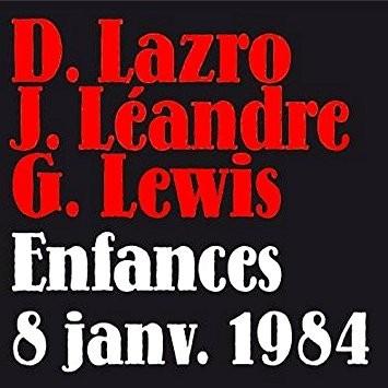 ENFANCES 8 JANVIER 1984