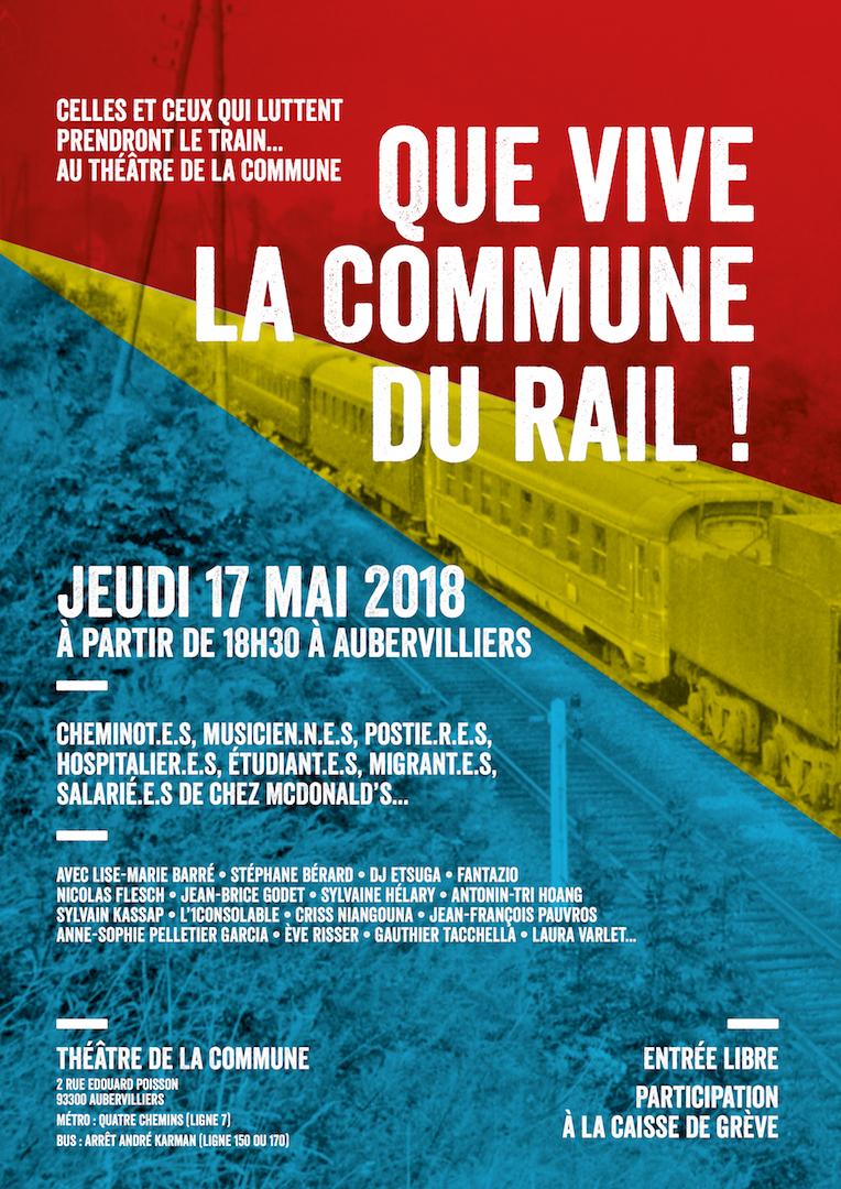Que vive la Commune du rail !