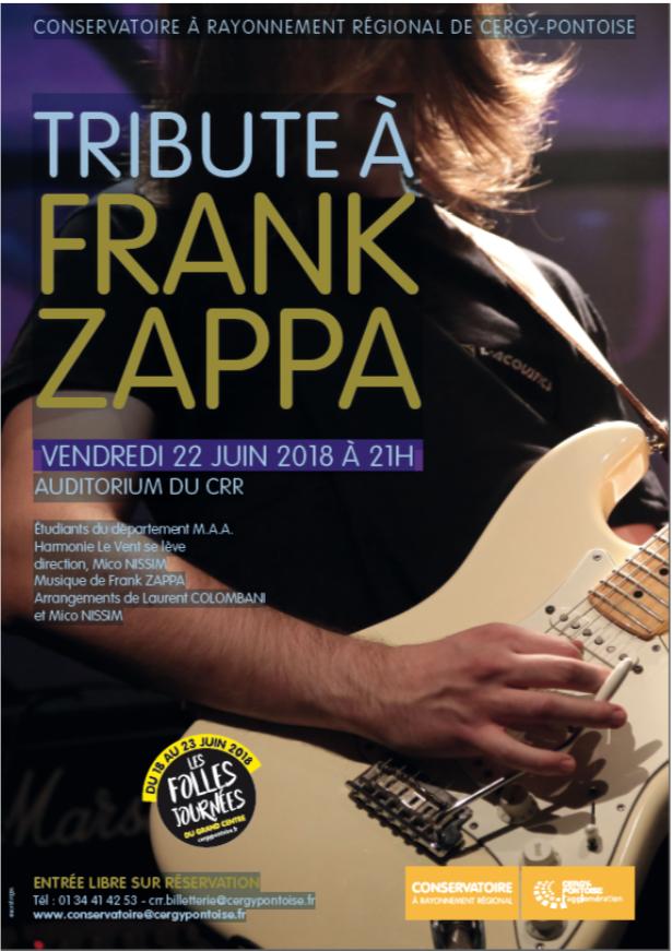 Tribute à Frank Zappa - 22 juin 2018