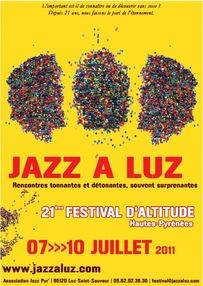 Stand des allumés du jazz à Luz saint sauveur