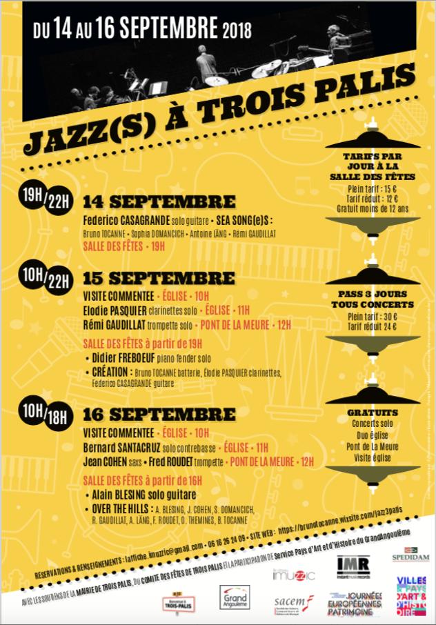 Stand des Allumés au festival Jazz(s) à Trois Palis