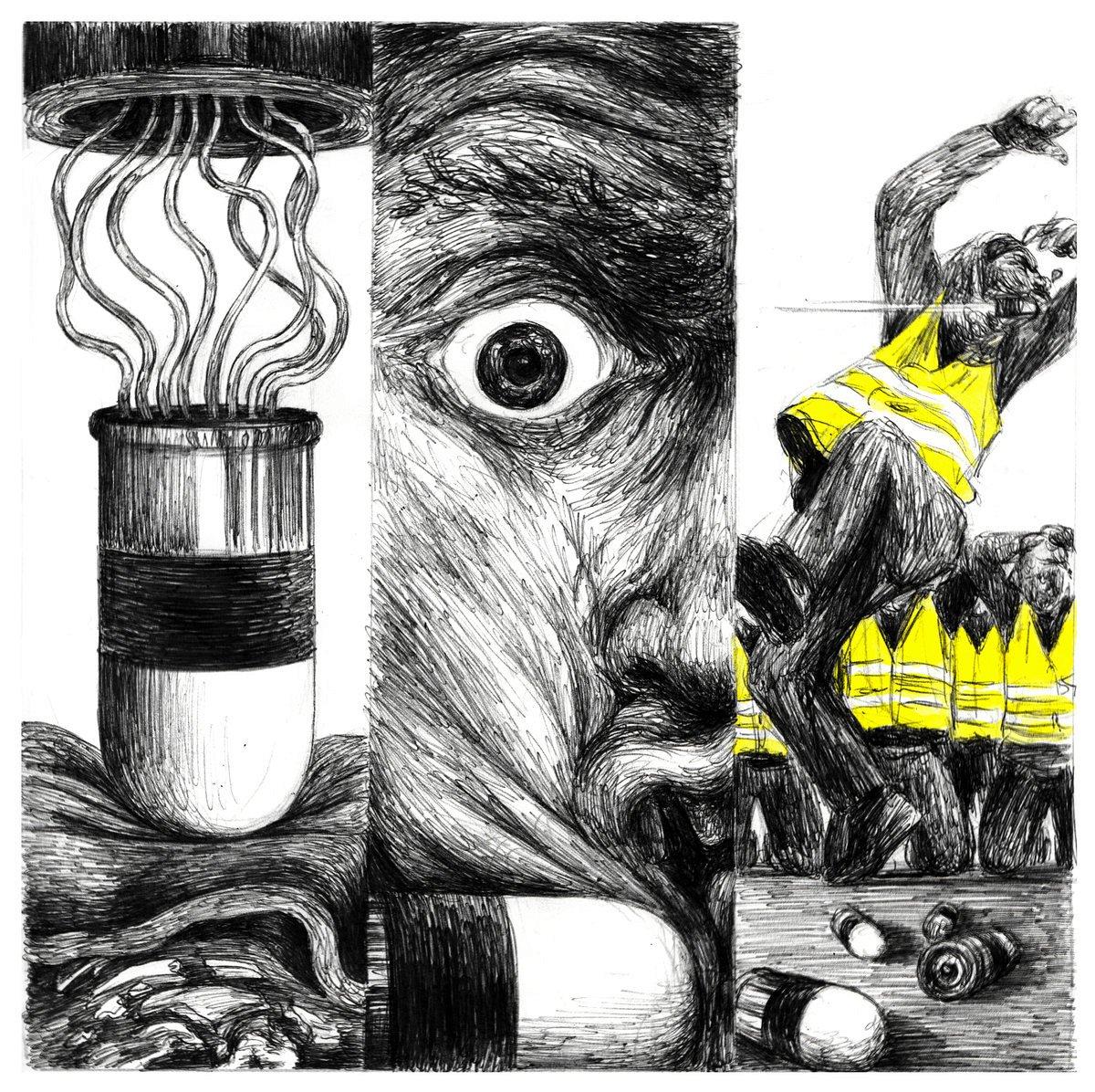 Gilets jaunes, colère noire par L'1consolable