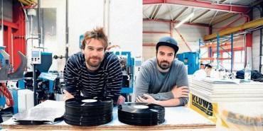 Berlin : Deux passionnés ouvrent une presse à vinyles dédiée aux  labels indépendants