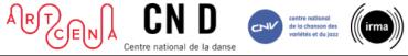 Les résidences artistique - Journée d'information juridique:  ARTCENA, CND, CNV, IRMA
