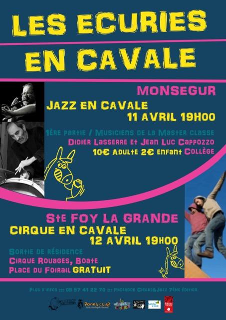 LES ÉCURIES EN CAVALE - AVRIL 2019