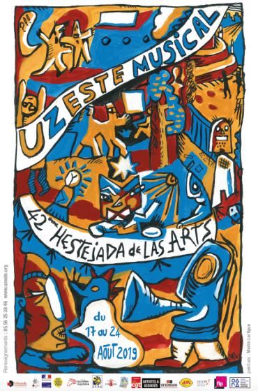 42e EDITION DE L'HESTEJADA DE LAS ARTS D'UZESTE MUSICAL 17/24 AOUT