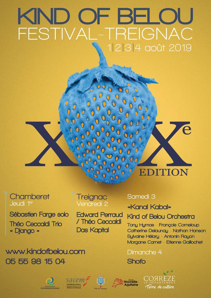 20è EDITION DU FESTIVAL KIND OF BELOU !