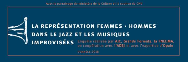 LA REPRÉSENTATION FEMMES / HOMMES DANS LE JAZZ ET LES MUSIQUES IMPROVISÉES