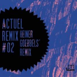 ACTUEL REMIX  #02 : HEINER GOEBBELS REMIX - #03 : ENSEMBLE MODERN LIVE REMIX