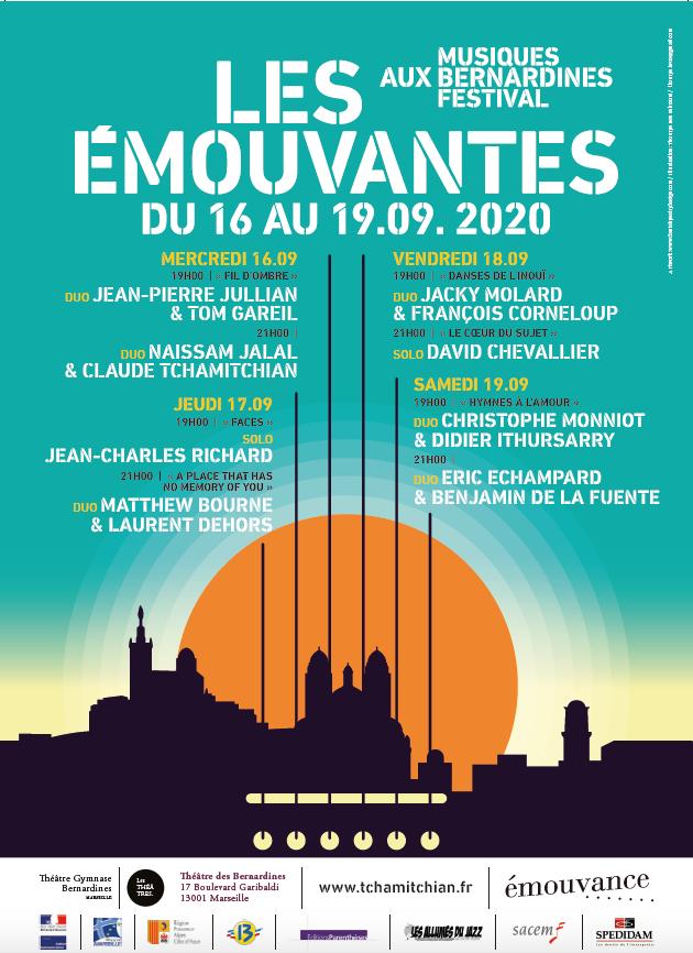 LE FESTIVAL LES EMOUVANTES AURA LIEU DU 16 AU 19 SEPTEMBRE 2020