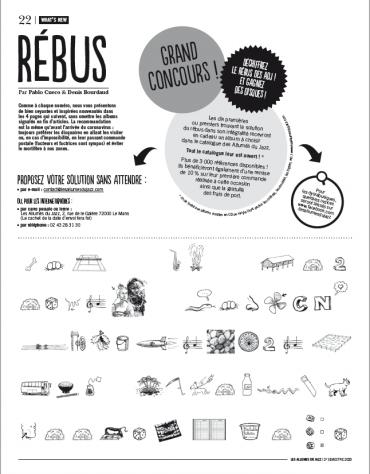 RESULTATS DE NOTRE <br>GRAND JEU-CONCOURS « REBUS DU JOURNAL DES ALLUMES DU JAZZ #39»