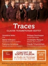 Sortie du nouvel album Claude Tchamitchian sextet