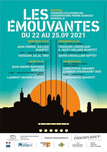 STAND DE DISQUES AU FESTIVAL LES ÉMOUVANTES - 22 AU 25 SEPTEMBRE 2021